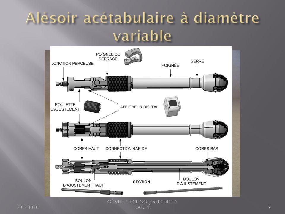 2012-10-019 GÉNIE - TECHNOLOGIE DE LA SANTÉ