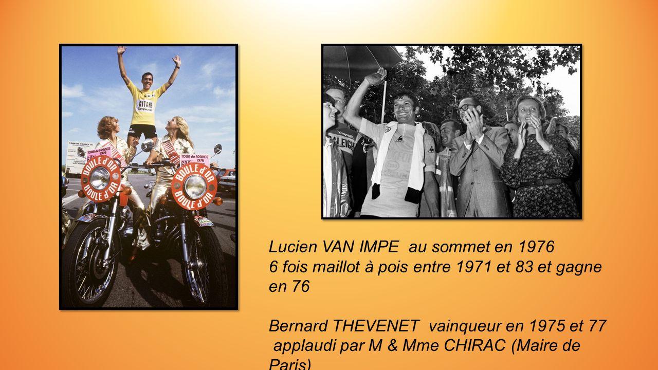 Eddy MERCKX (Le Cannibale) avec 600 victoires dans sa carrière et 5 tours.. Cliché de 1975 au contre la montre Fleurance - Auch