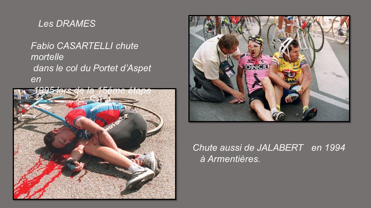 Miguel INDURAIN règne sur le Tour avec 5 victoires daffilée entre 1991 et 95 Cliché de 1992 sur les Champs-Elysées