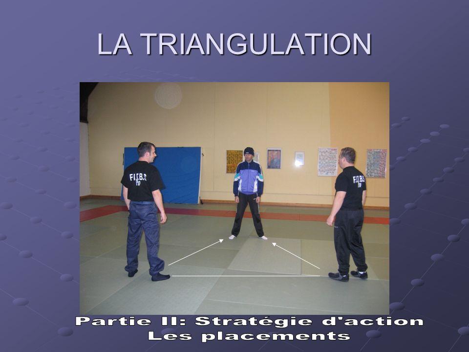 Les placements Quil y ait un ou plusieurs individus lors de lintervention, les deux policiers se placeront toujours de face (lun à gauche et lautre à droite), de manière à perturber la (ou les) personne.