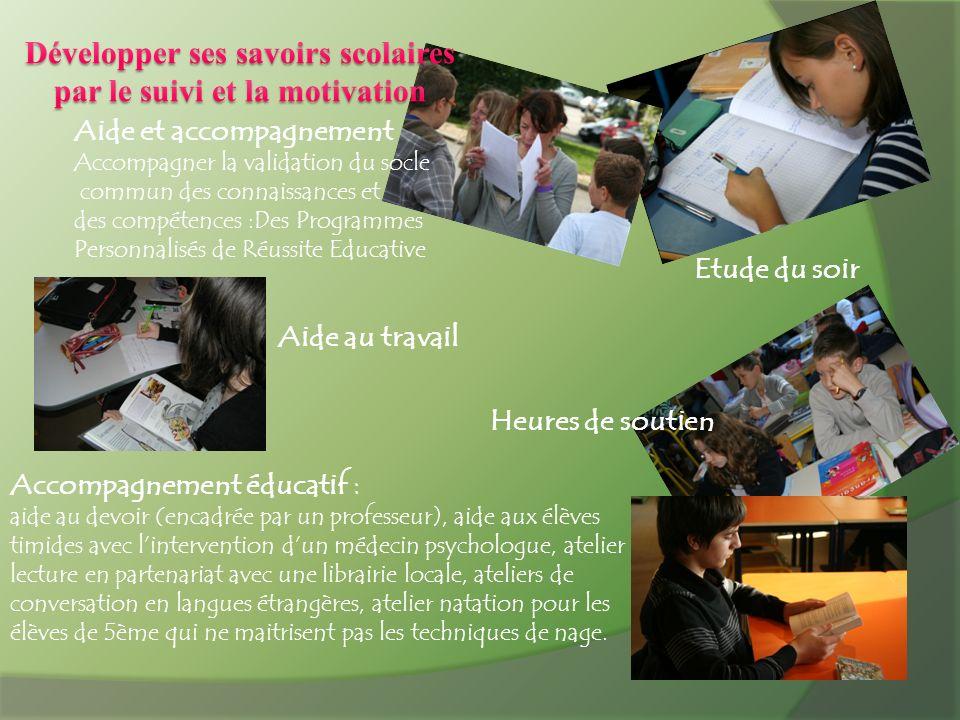 Aide et accompagnement Accompagner la validation du socle commun des connaissances et des compétences :Des Programmes Personnalisés de Réussite Educat