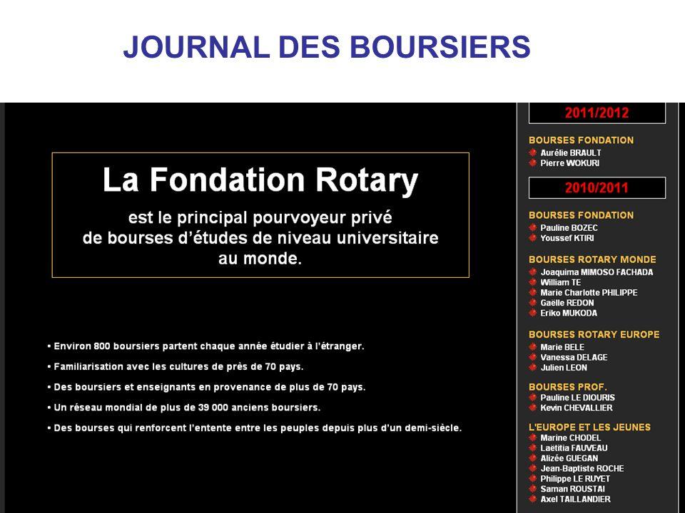 JOURNAL DES BOURSIERS