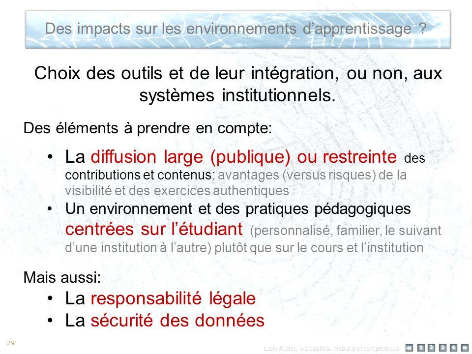 12 34 29 Des impacts sur les environnements dapprentissage .