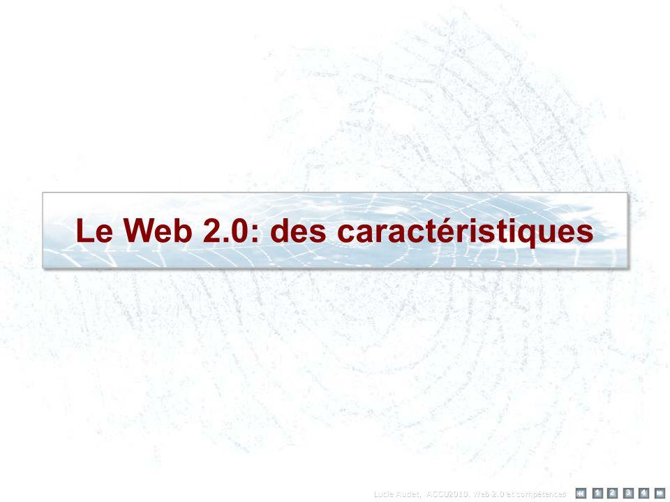 Le Web 2.0: des caractéristiques 12 34