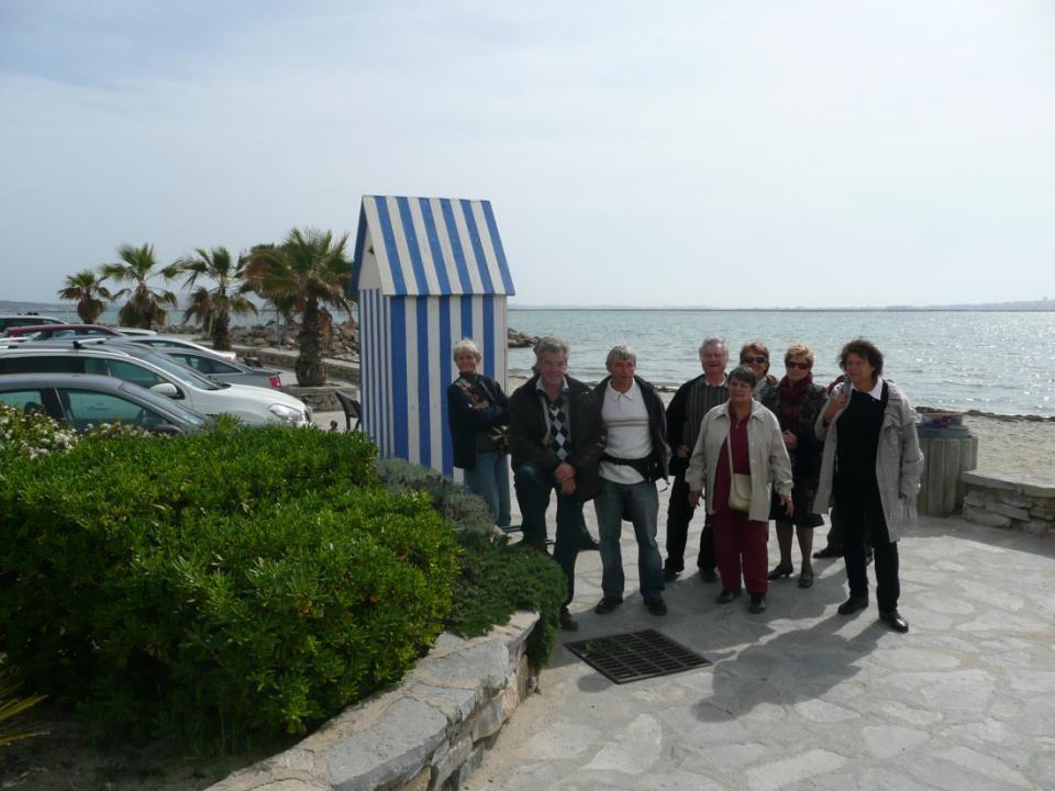 Après avoir visité la ville, nous voilà à nouveau sur le port où nous allons déjeuner au restaurant « Les Saveurs de Thau ».
