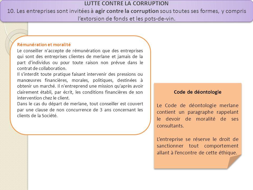 LUTTE CONTRE LA CORRUPTION 10.