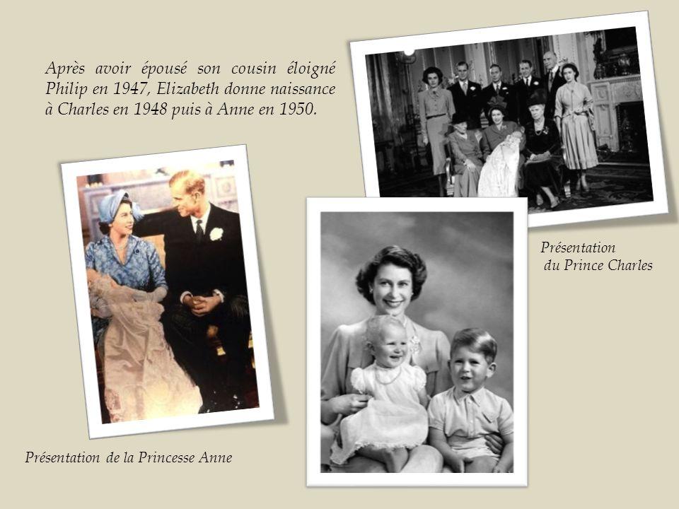 Deux mois après son retour d Afrique du Sud, le 20 novembre 1947, elle épouse Philippe Mountbatten