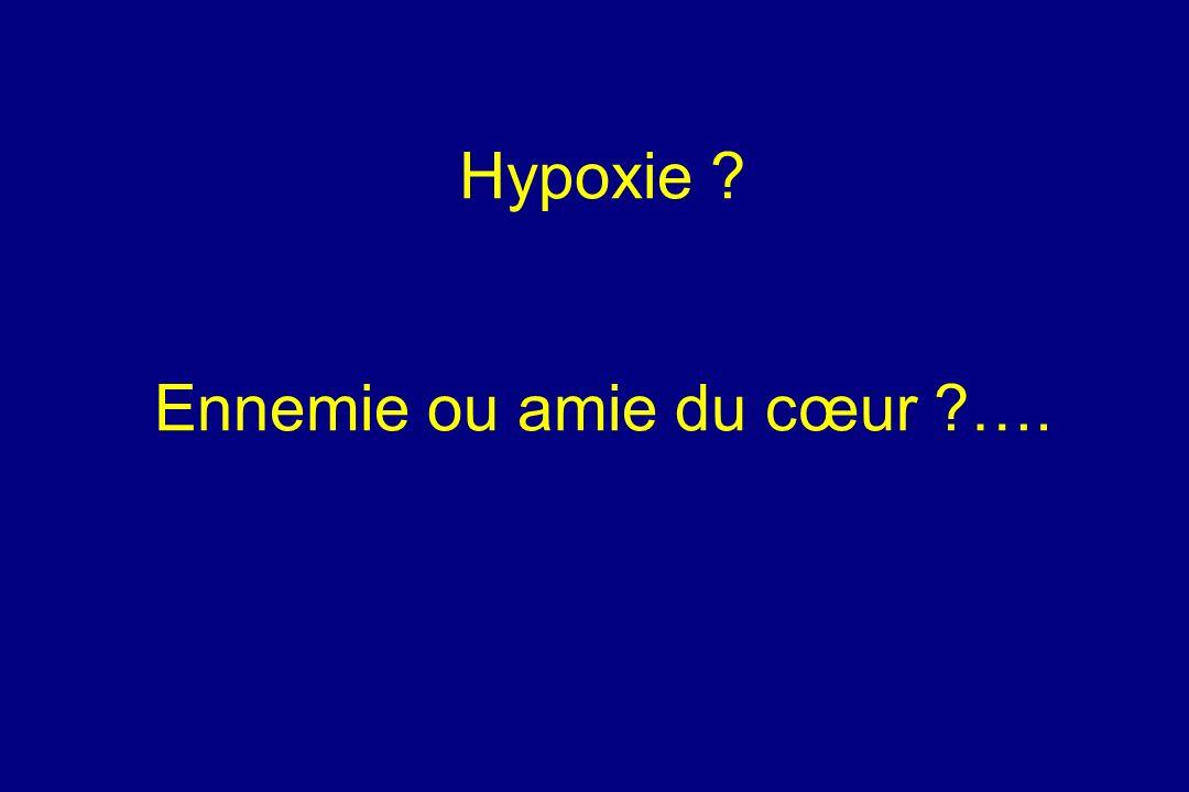 Hypoxie ? Ennemie ou amie du cœur ?….