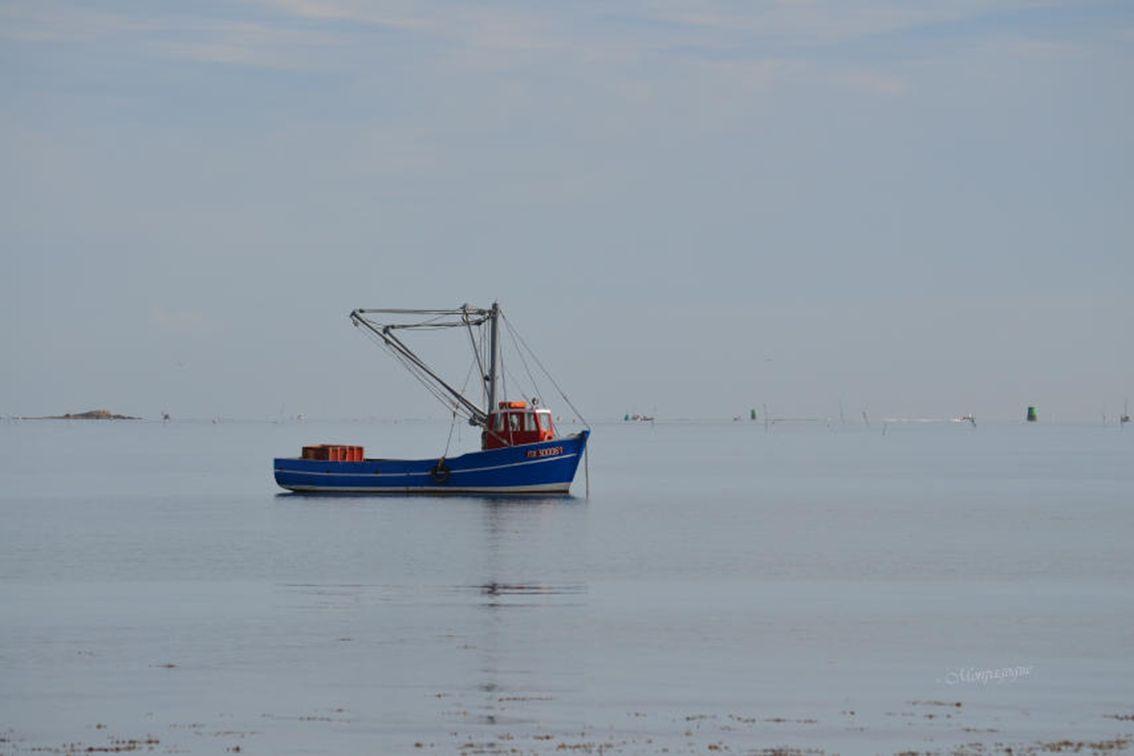Vue sur Dourduff sur mer