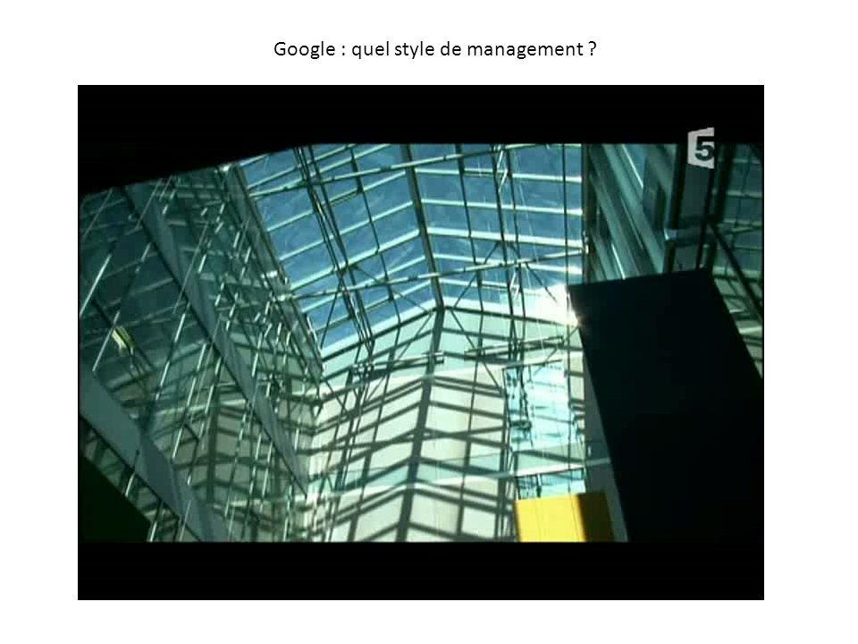 Google : quel style de management ?
