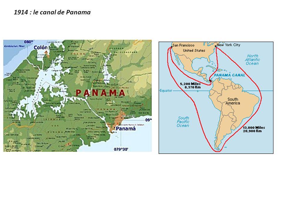 1914 : le canal de Panama