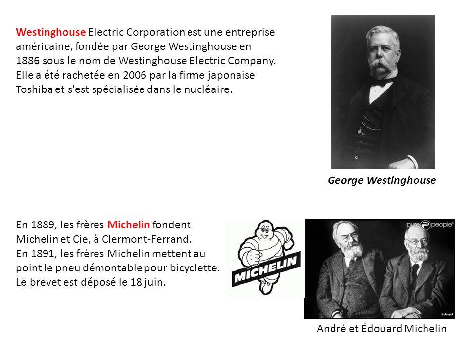 Westinghouse Electric Corporation est une entreprise américaine, fondée par George Westinghouse en 1886 sous le nom de Westinghouse Electric Company.