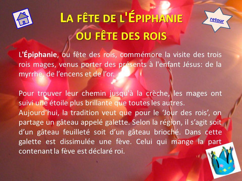 LA CHANDELEUR Cest une fête chrétienne qui se célèbre le 2 février.