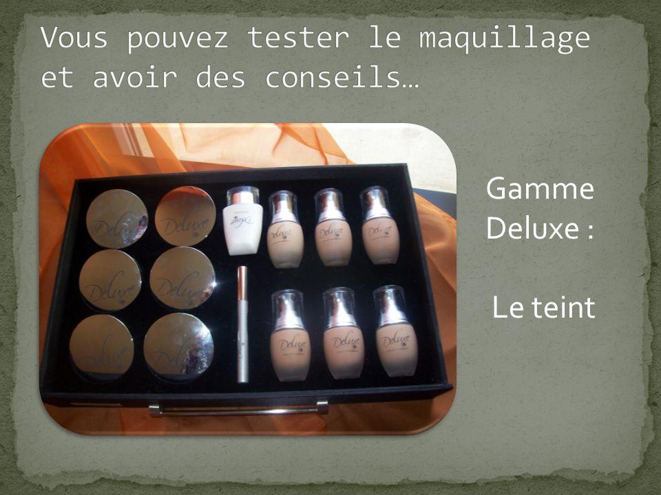 Gamme Deluxe : Les lèvres et les joues Vers les autres photos