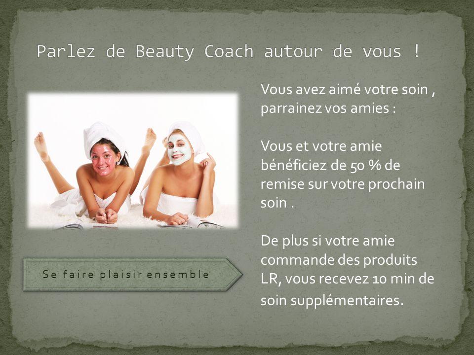 Beauty Coach est le seul institut à domicile à vous offrir vos soins.