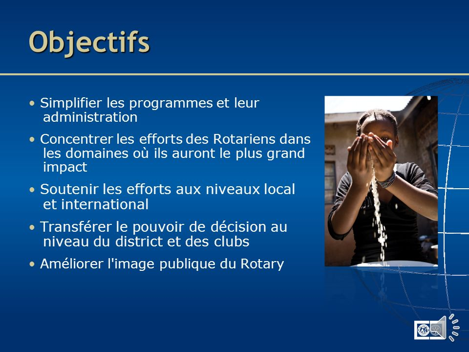 Plan Vision pour lavenir Octobre 2011