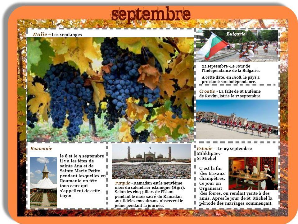 Roumanie Italie - Sicile Les figues de barbarie Le 14 octobre: La fête de la ville de Iasi, qui sétende sur une semaine et quand dans la ville il y a plein de pèlerins.