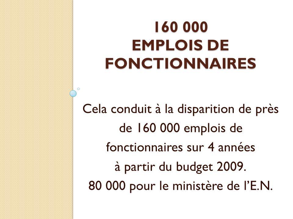 Le discours de Nantes a fixé les objectifs.« fonction Publique de métiers ».