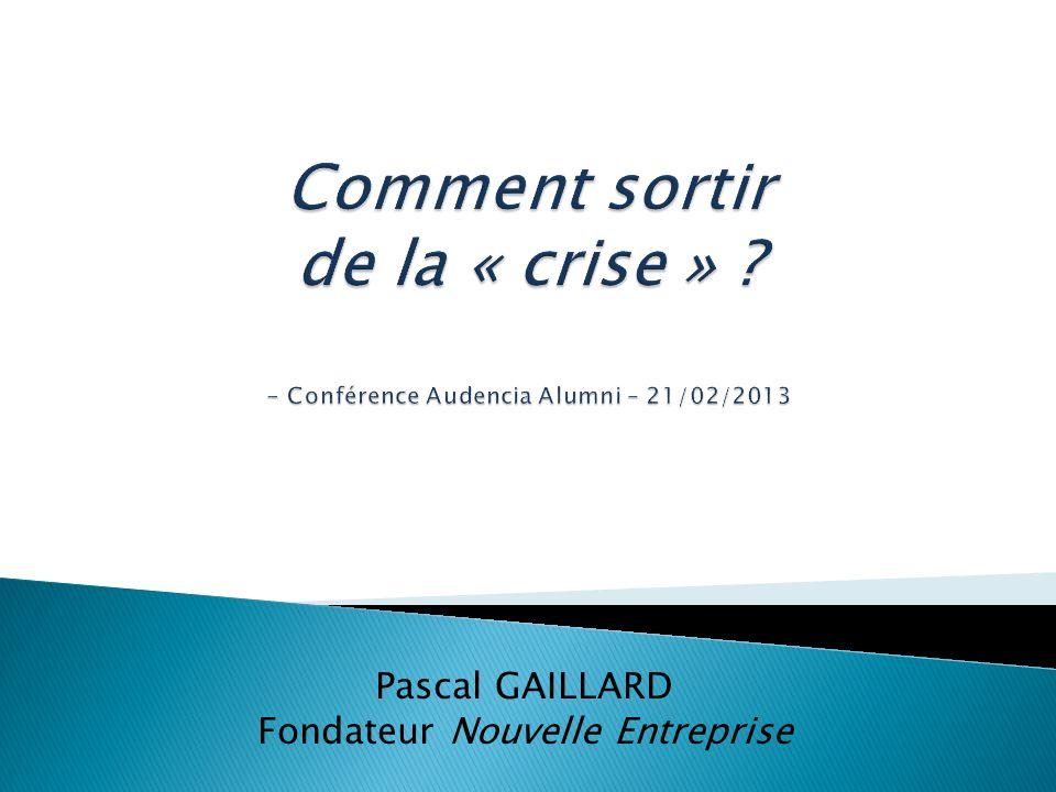 Pascal GAILLARD Fondateur Nouvelle Entreprise