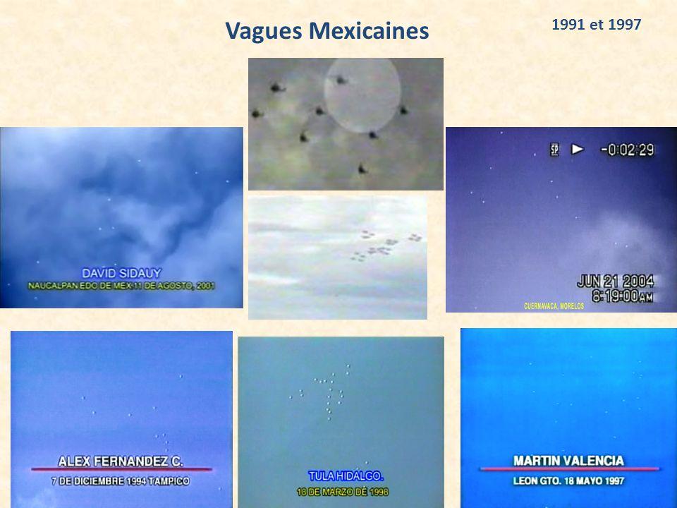 Vagues Mexicaines 1991 et 1997