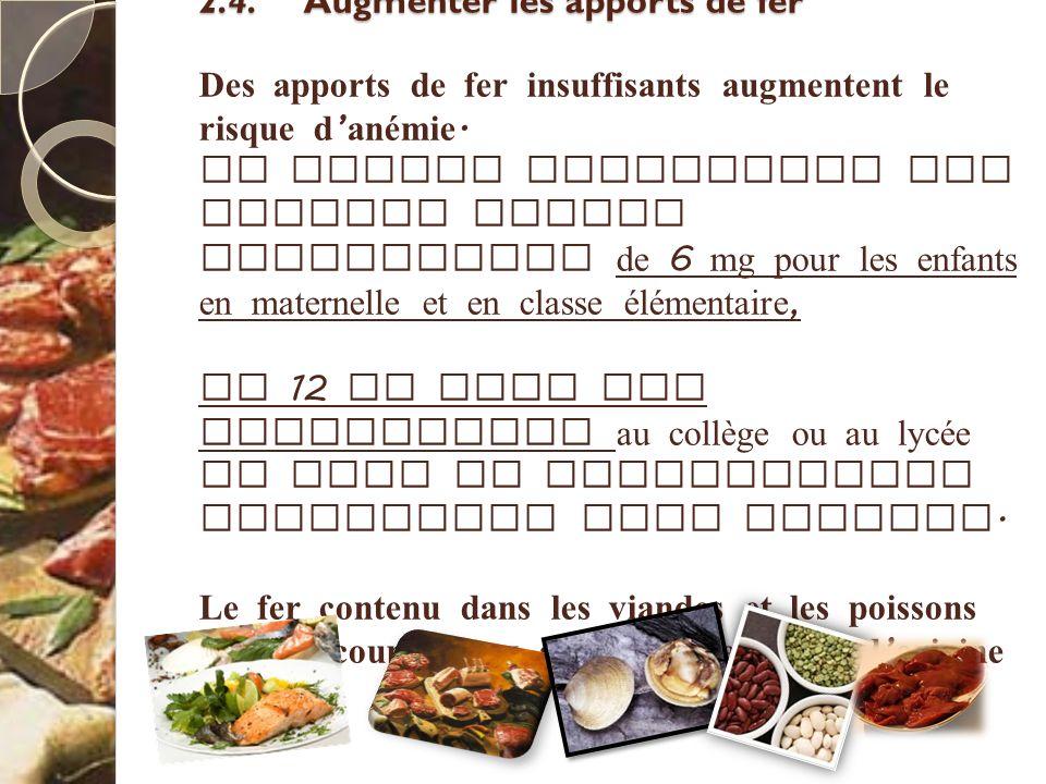 4.2.1 Fréquences de service des plats SUITE Lorsque le service est organisé en libre choix, il existe 2 possibilités : Le choix dirigé : Les plats entre lesquels le convive doit choisir sont équivalents nutritionnellement pour une catégorie d aliments donnée et doivent respecter les fréquences définies ci - après.