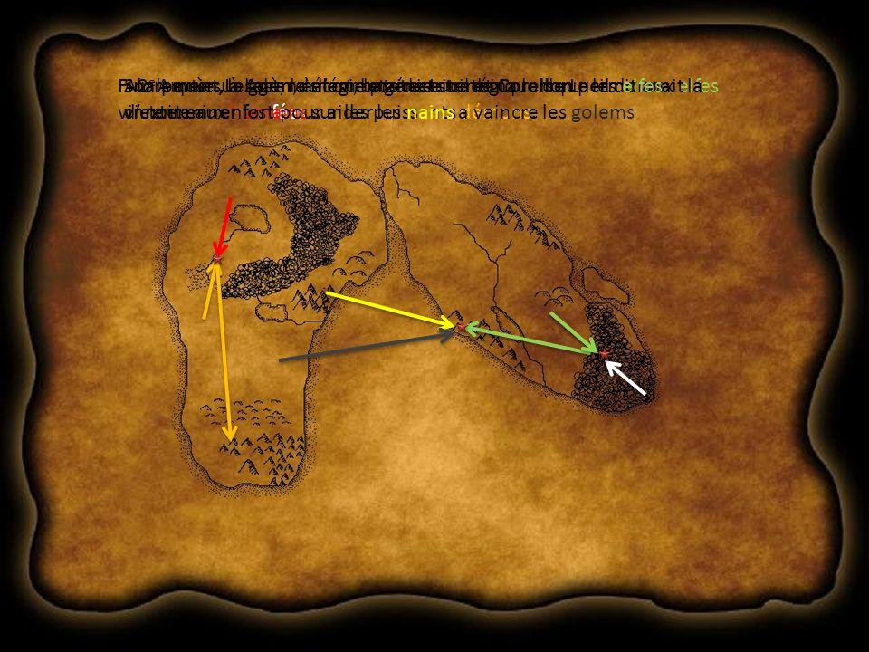 2 e partie: Les grands combats de Lucil et CorellonSur Amrùn, à lest, la magie protectrice de Corellon permit aux elfes dexterminer les fées… Alors que sur Adùn, à lest, le génie stratégique de Lucil donnait la victoire aux humains sur les puissants démons.