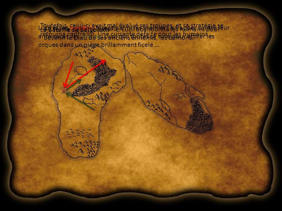 … les nains, qui élevèrent leur général défunt Thor au rang de divinité au terme de cette bataille, parvinrent a reprendre leur territoire et formèrent les bases de leurs sociétés actuelles.