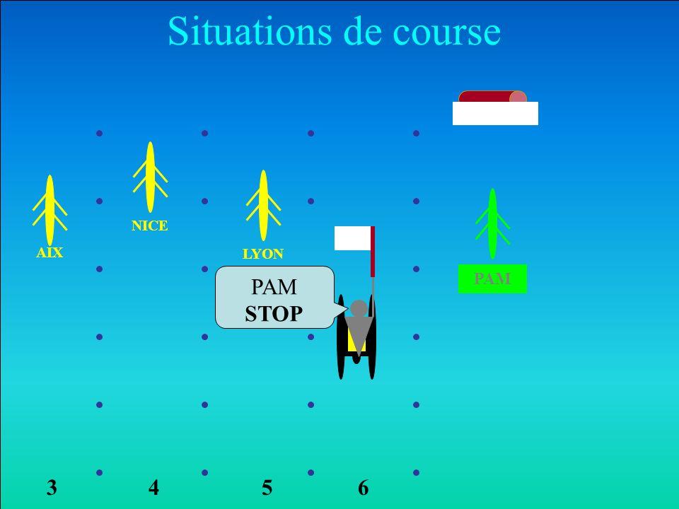 NICE AIX LYON PAM Situations de course 6354 PAM STOP