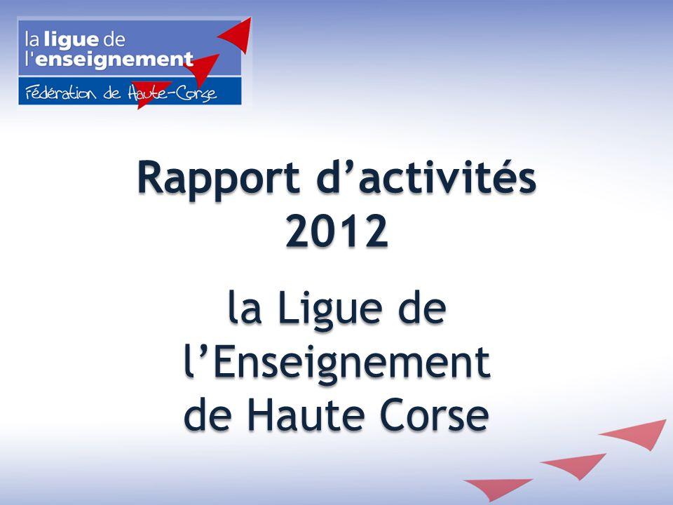 Secteur Education Chantier de jeunes bénévoles… Juin 2012 à Saint Florent en partenariat avec la Ligue 13