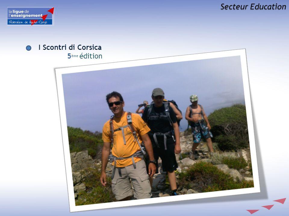 Secteur Education I Scontri di Corsica 5 ème édition
