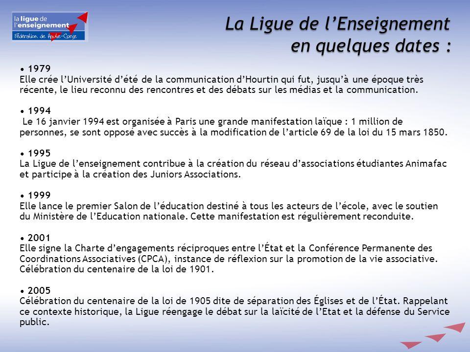 En Haute Corse, de part son maillage très large du territoire, la Ligue de lEnseignement assure une présence sur des espaces très hétérogènes.