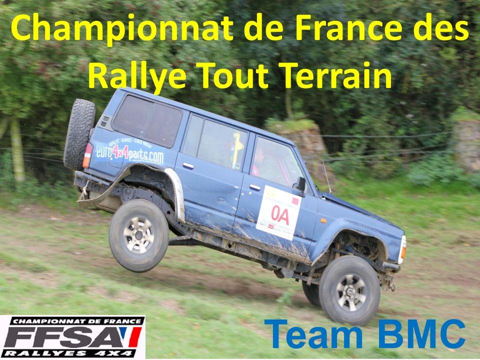 Championnat de France des Rallye Tout Terrain Team BMC