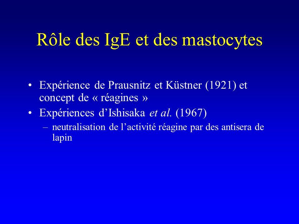 Cytokines Rôle immédiat : par exemple TNF- des mastocytes dans le choc anaphylactique (cf.