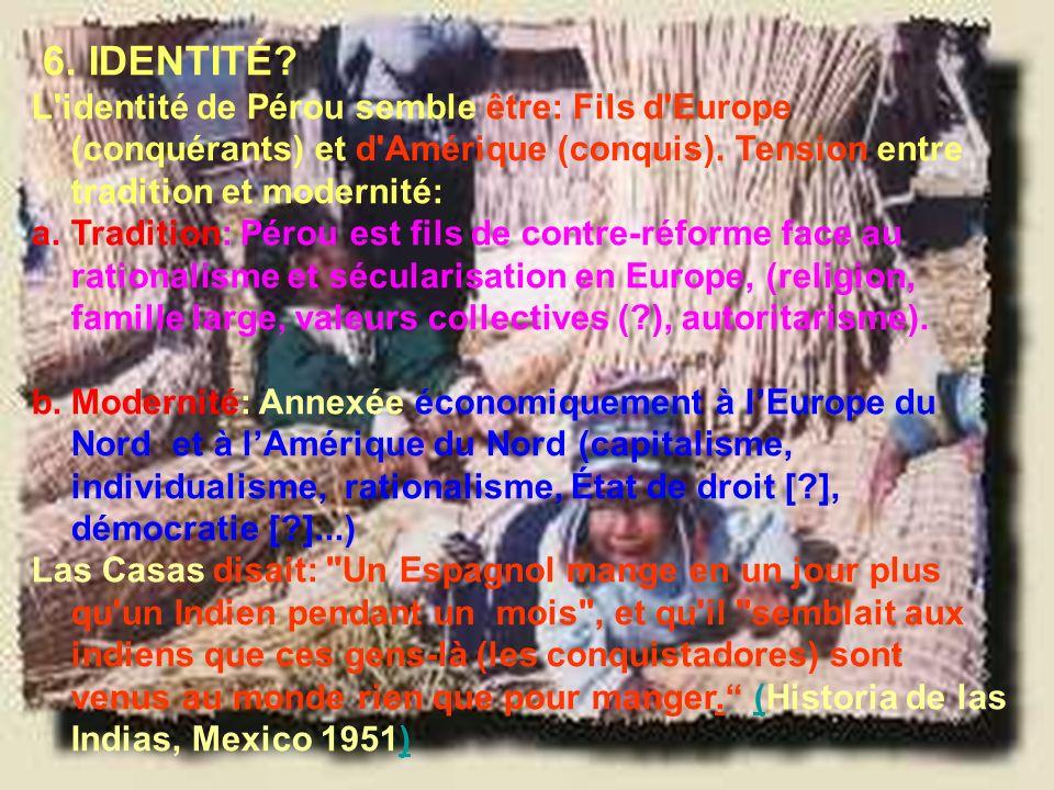Ramón R. Abarca Fernández 6. IDENTITÉ.