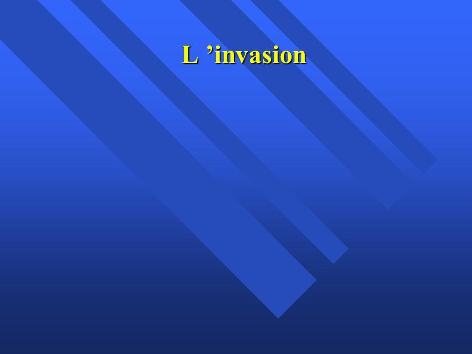 L invasion