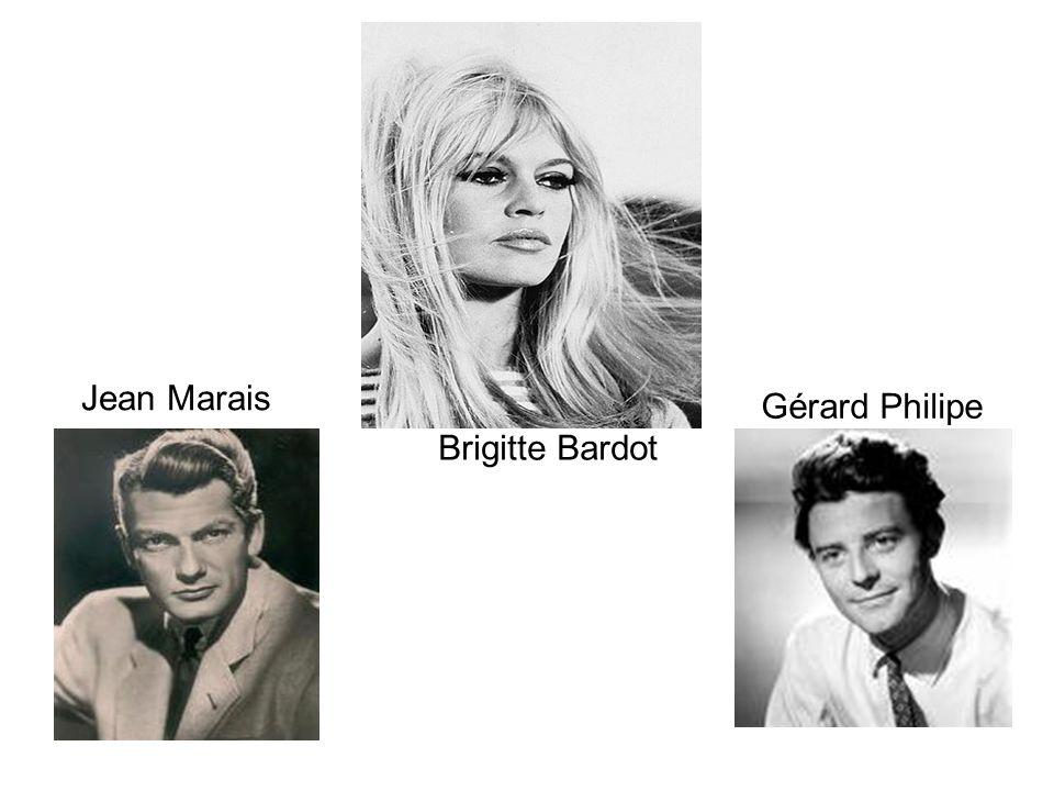 Brigitte Bardot Jean Marais Gérard Philipe