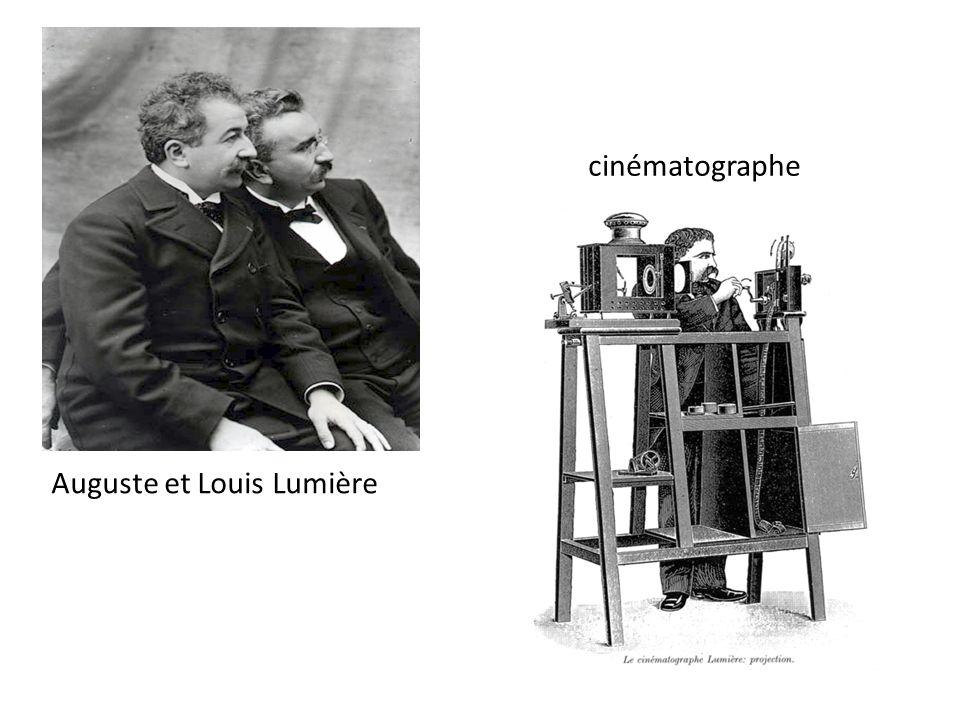 Auguste et Louis Lumière cinématographe