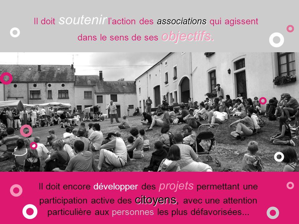 Le Centre culturel...créations.... assure aussi un rôle dans laccès aux productions et créations.