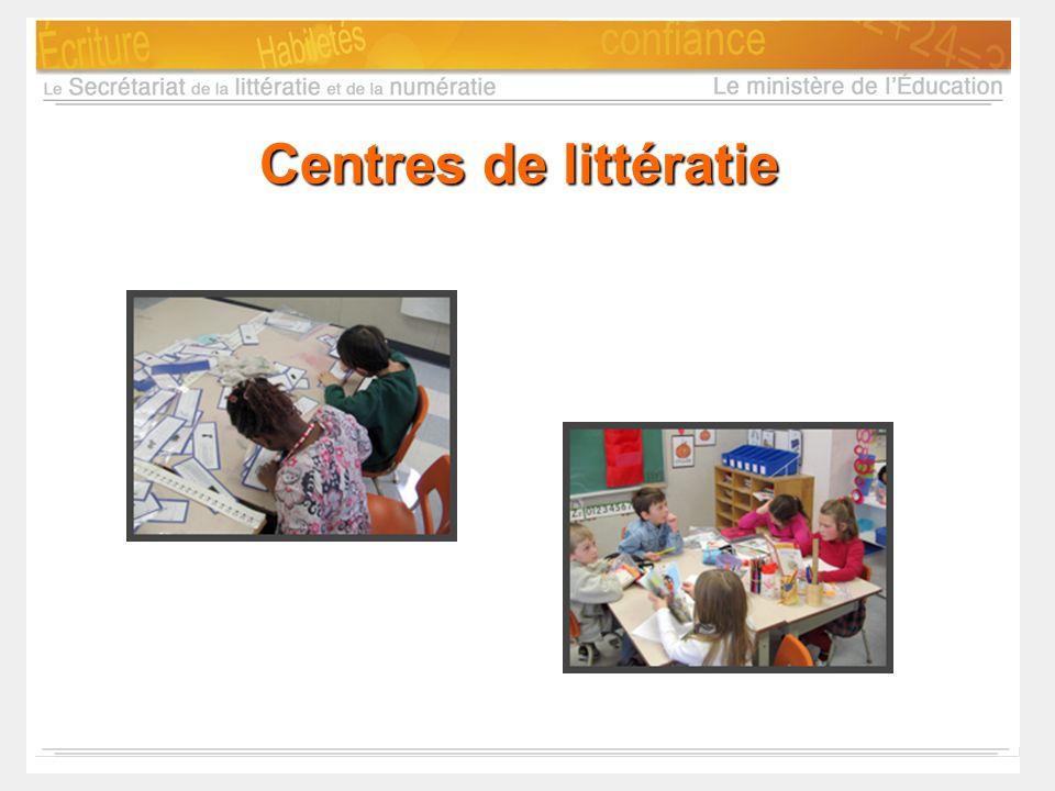 Centres de littératie