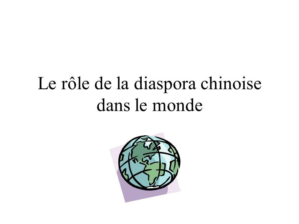 Le rôle de la diaspora chinoise dans le monde