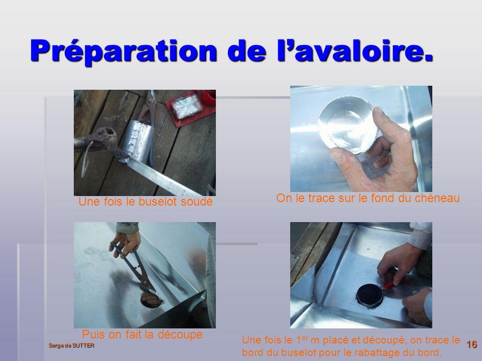 Serge de SUTTER 16 Préparation de lavaloire.