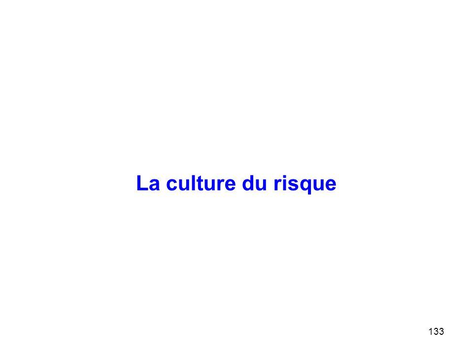 133 La culture du risque