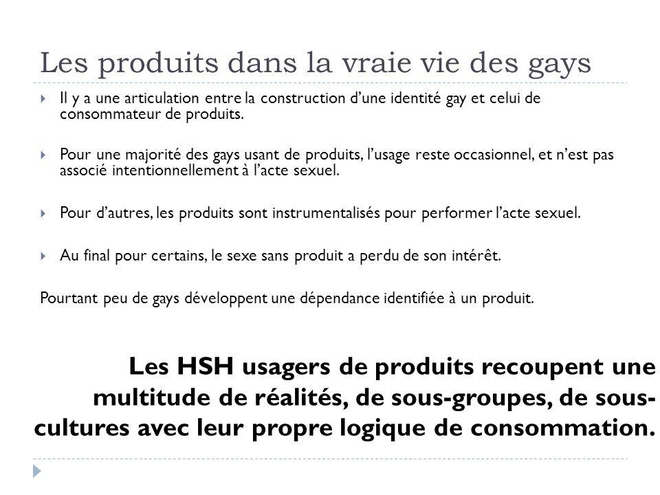 Les produits dans la vraie vie des gays Il y a une articulation entre la construction dune identité gay et celui de consommateur de produits.
