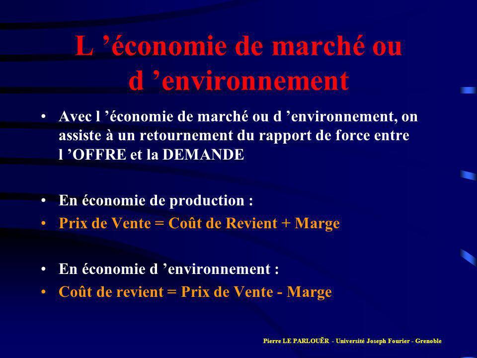 Connaissance de l entreprise Partie 4 Stratégie Marketing : de la création au lancement de nouveaux produits Pierre LE PARLOUËR - Université Joseph Fourier - Grenoble