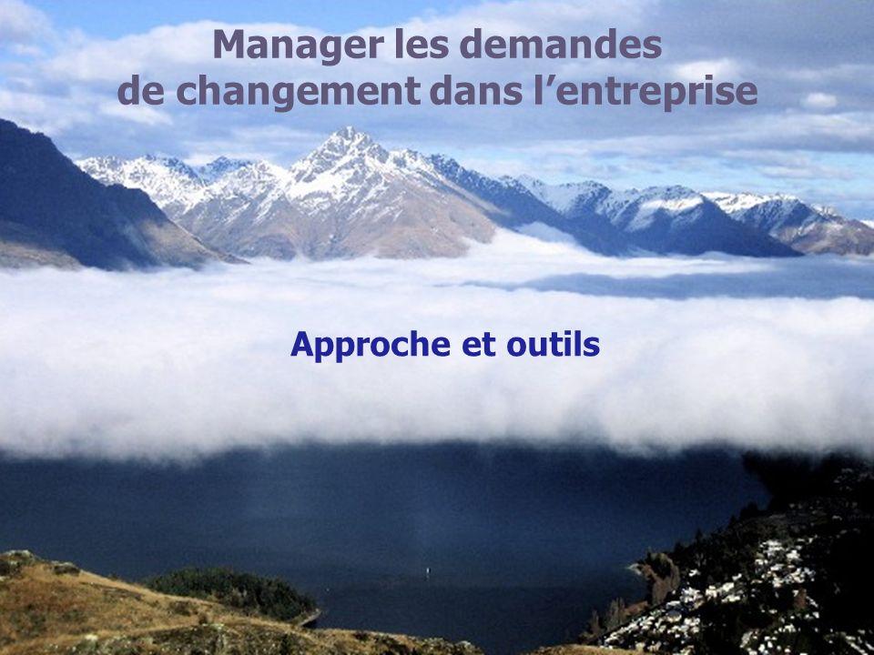 Manager les demandes de changement dans lentreprise Approche et outils