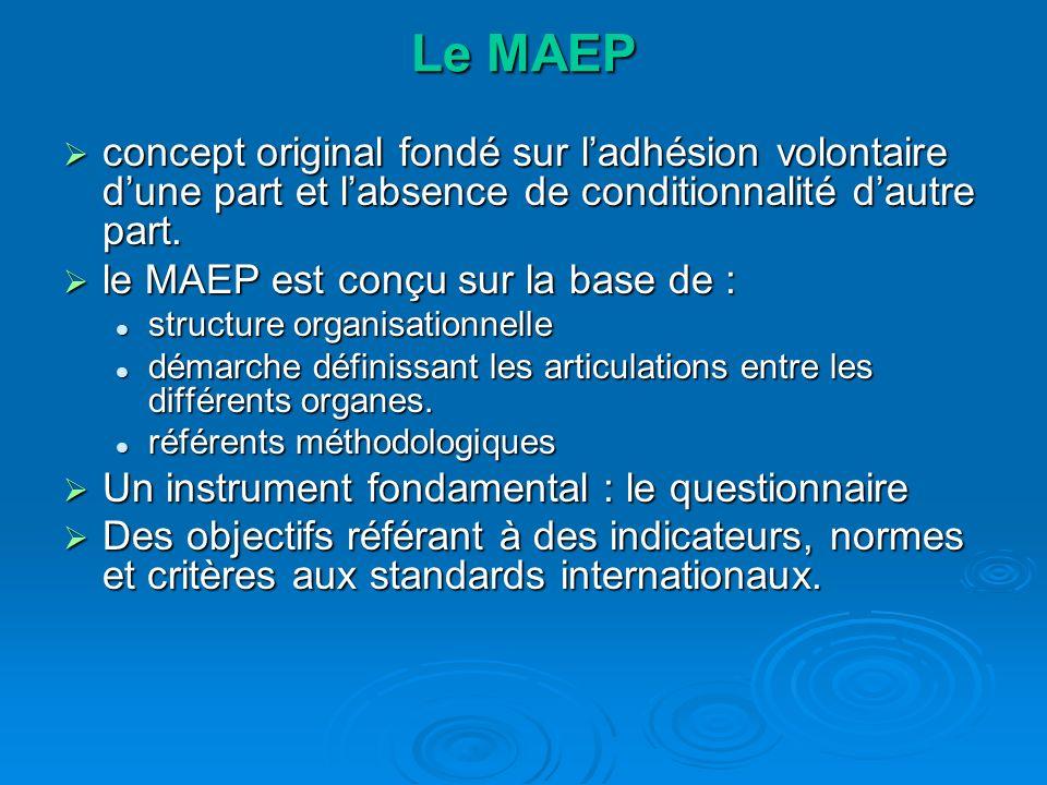Le MAEP concept original fondé sur ladhésion volontaire dune part et labsence de conditionnalité dautre part.
