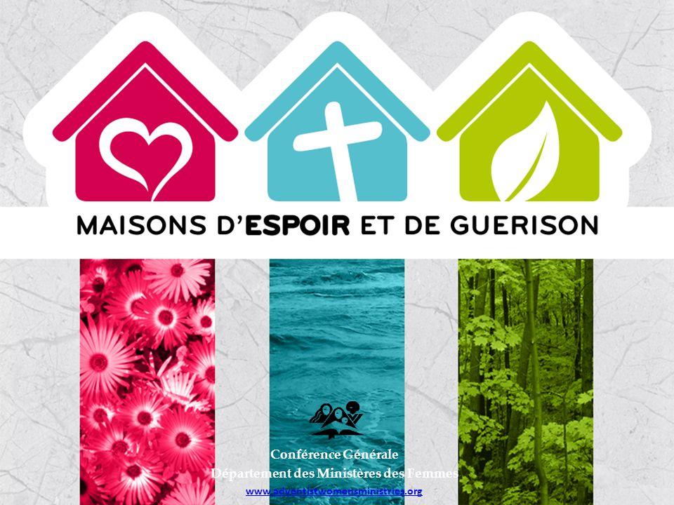 Comment maintenir le programme « Maisons dEspoir et de Guérison » .
