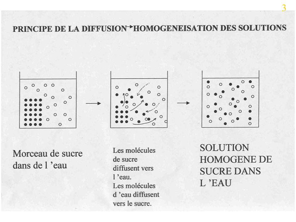 Faible pression osmotique intracellulaire Forte pression osmotique intracellulaire faible salinité forte salinité 35 polymère monomère