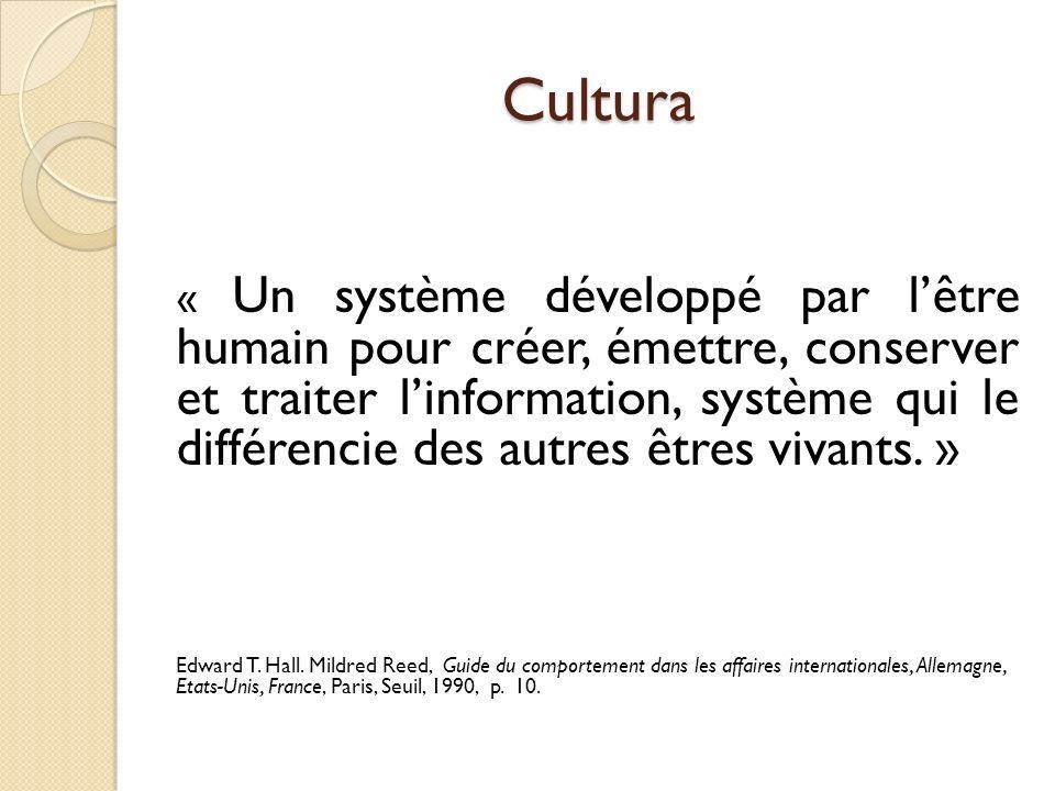 Culturalità « Pour communiquer, il ne suffit pas de connaître la réalité culturelle, mais de développer une compétence pragmatique qui permet de saisir la culture à travers le langage et la communication, cest-à-dire la culture en acte, la culturalité.