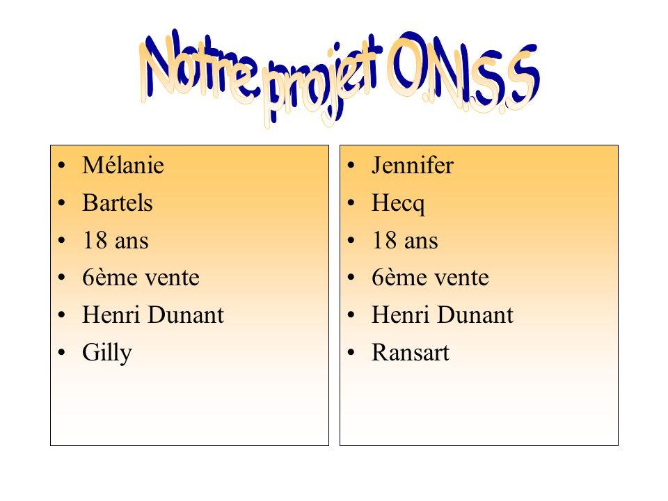 Mélanie Bartels 18 ans 6ème vente Henri Dunant Gilly Jennifer Hecq 18 ans 6ème vente Henri Dunant Ransart